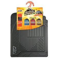 100 Truck Floor Mat Armor All Black Full Coverage Rubber 78990 The