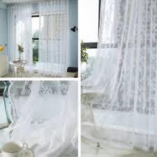 geblümte gardinen vorhänge fürs schlafzimmer günstig