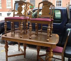 Uhuru Furniture Collectibles 1930s Walnut 8 Pc Dining Room Set Rh Uhurufurniturephilly Blogspot Com 30 Sets Table