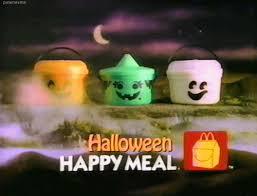 Mcdonalds Halloween Buckets by Mcdonalds Buckets