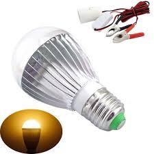 bonlux e27 dc ac 12v led light bulb solar battery l for motor