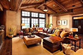 Western Rooms Decor Awesome Rustic For Living Room Themed Ideas
