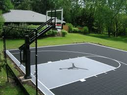 Exquisite Decoration Backyard Basketball Courts Exciting 1000 ... Multisport Backyard Court System Synlawn Photo Gallery Basketball Surfaces Las Vegas Nv Bench At Base Of Court Outside Transformation In The Name Sketball How To Make A Diy Triyaecom Asphalt In Various Design Home Southern California Dimeions Design And Ideas House Bar And Grill College Park Half With Hill
