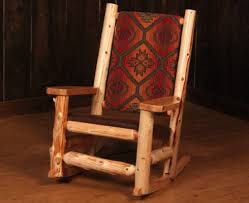 Rocking Chairs Perfect For Log Homes