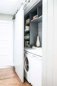 Valet Custom Cabinets Campbell by Downsize Your Laundry Slotting Your Washing Machine And Dryer
