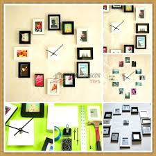 Photo Collage Ideas For Wall Decorative Gallery Without Frames