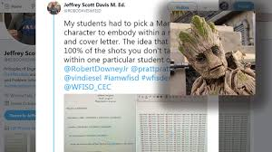 I Am Groot': Texas Student Takes Marvel Approach To Resume,... Fall 2018 Scholarship Winner Announcement Resume Companion Jeffrey Scott Davis M Ed Cswa On Twitter My Students Had To Chronicle Resume Sazakmouldingsco Wichita Falls Teachers Tweet Going Viral Radicalist Labs Free Professional Templates Vs Job It Template Word Sample Fre Lyft Driver Inspirational Maker Reddit Your Story Cv Word Font I Am Groot Thathappened 97 Cover Letter Generator Samples New How To Restaurant Manager Keyword Opmization Tool