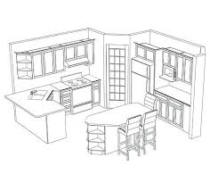 Kitchen Layouts Potential Layout With A Corner Pantry Ideas L Shaped