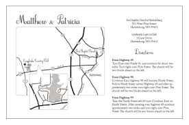 Wedding Invitation Map Combined With Your Creativity Will Make This Looks Awesome 2