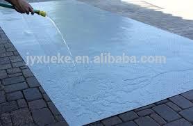 Waterproof Large Plastic Floor Mat Anti Slip Outdoor Carpet Rolls