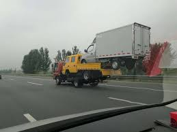 Transport Truck Level: China : Funny