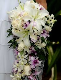 Hawaiian Tropical Wedding Bouquet