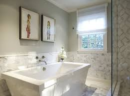 Wainscoting Bathroom Ideas Pictures by Half Bathroom Tile Ideas Painting Designs Design Ideas