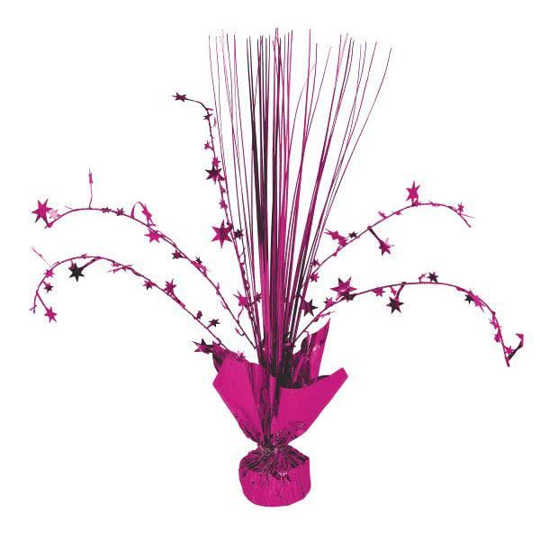 Bright Pink Spray Centerpiece