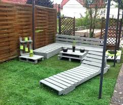 Pallet Garden Furniture Unique Sofa Idea Chair Instructions