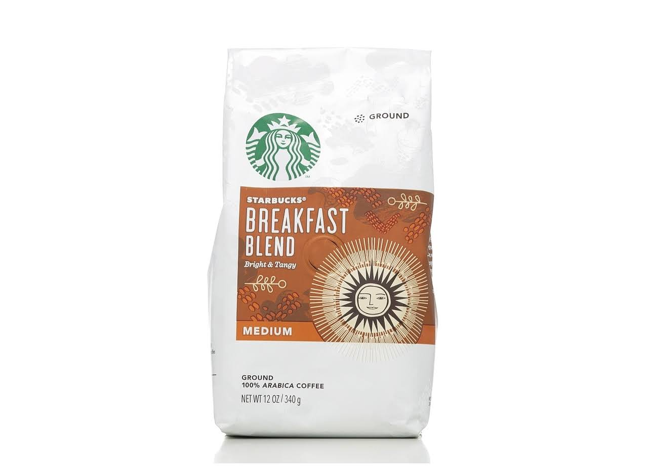 Starbucks Ground Coffee - Medium, Breakfast Blend