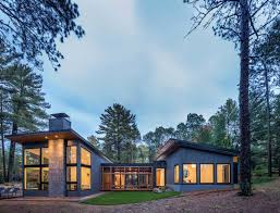 100 Modern Houses Images Lake House Getaway On Forested Landscape In Northern Minnesota
