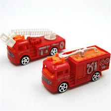 100 Diecast Fire Truck 2019 Sliding Alloy Car Model Children Toys Engine