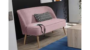 polsterbank pino esszimmerbank in stoff rosa mit