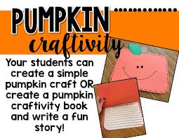 Spookley The Square Pumpkin Writing Activities by The Primary Peach Fall Favorites And Freebies Teaching With