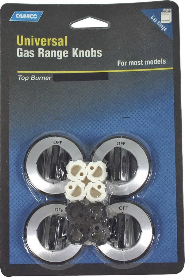 Camco Universal Gas Range Knobs - Black