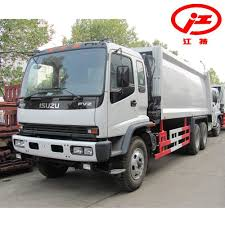 China 20 Cubic Meters Isuzu Garbage Compactor Trucks For Sale ...