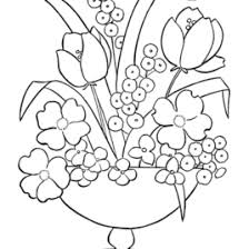 Flower Coloring Pages For Adults AZ