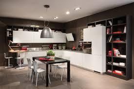 cuisine en u avec table cuisine design en u with cuisine design en u stunning table