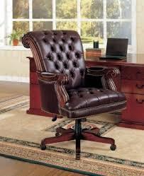 wooden swivel office chair foter