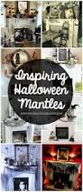 Pier 1 Halloween Mantel Scarf by Best 25 Halloween Fireplace Ideas On Pinterest Classy Halloween