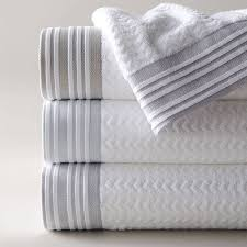 Jcpenney Bath Towel Sets by Linen Trimmed Bath Towel By Jodie Byrne Notonthehighstreet Com