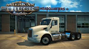 American Truck Simulator - Episode 14 - Purchased A Garage! - YouTube