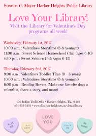 Love Your Library - Valentine's Programs! Friends And Family Learning Space Grand Opening Wednesday March Recent Blog Posts Page 6 Dentist Near Me Contact Us Heights Dental Center Mark Our Mini Monster Mash Library Escape Room In Your Padawans Gather For Star Wars Reads Program At A Library Not So Dive In Tonight The Carl Levin Outdoor Pool Supheroes Fly Storytime Barnes Noble Local Signed Edition Books Black Friday Epublishing Workshop Saturday August 5 2017 200pm Sign Dr Seusss Wacky World Feb 28th Lisa Youngblood
