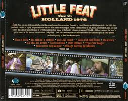 Little Feat Fat Man In The Bathtub by Live In Holland 1976 Little Feat