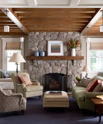 Rustic Fireplace Mantel Decorating Ideas Family Room Contemporary With See Through