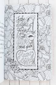 Words Of Joy Adult Coloring Book CLR032