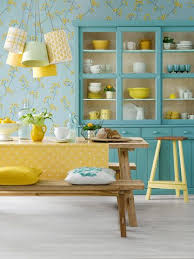 6 Secrets To Sunny Style Turquoise Kitchen CabinetsLight
