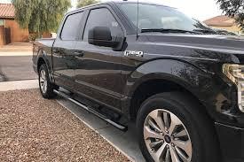 100 Westin Truck 20152019 F150 SuperCrew Pro TraXX 4 Nerf Step Bars Black