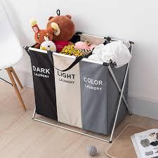 3 abschnitte faltbare wäsche korb große faltbare wäsche