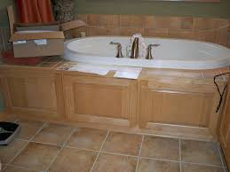 Tiling A Bathtub Deck by Before Tub Deck And Tile Designs To Inspire