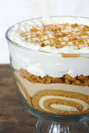 Pumpkin Mousse Trifle by Pumpkin Roll Trifle Mildly Meandering
