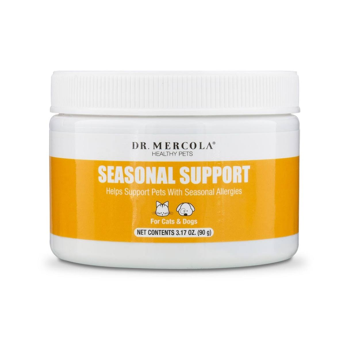 Dr Mercola Healthy Pets Seasonal Support - 3.17oz