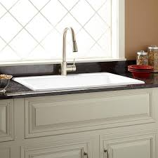 33x22 White Kitchen Sink by 33