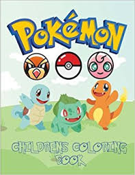 Pokemon Childrens Coloring Book With Catchable Characters From Go For You To Color And Enjoy Pokedex