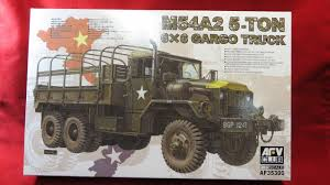 AFV Club 1/35 M54a2 5-ton 6x6 Cargo Truck Af35300   EBay 1967 Kaiser Jeep 5 Ton Military Dump Truck Warwheelsnetm54a1a2c Gun Index Army Surplus Vehicles Army Trucks Military Truck Parts Largest M109a3 25ton 66 Shop Van Marks Tech Journal M929a1 6x6 Am General Youtube Ton For Sale Or Trade Trucks Gone Wild Basic Model Us Custom Crew Cab M923 A2 M939 M998 M35a2 Humvee Cariboo Usa Soldiers Ride In The Cargo Area Of A M939a2 6 X Used Sale Latest Bobbed