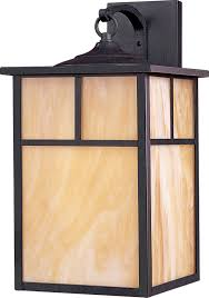 craftsman style outdoor lighting 86054hobu coldwater light wall