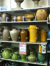 Hobby Lobby Pottery For Above Kitchen Cabinets