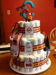 Fire Truck Themed Diaper Cake!   For When That Time Comes ... Fire Truck Baby Shower The Queen Of Showers Journey Parenthood Firetruck Party Decorations Diaper Cakes Diapering General Information Archives Gifts Singapore Awesome How Do You Make For Monster Bedding Sets Bedroom Bunk Bed Boy Firetruckdalmation Cakebaby