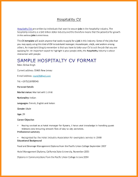 Sample Resume For Hospitality Students Best Hotel Concierge Activities Samples Canada