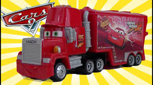 Cars 2 Mack Hauler And Truck Toys